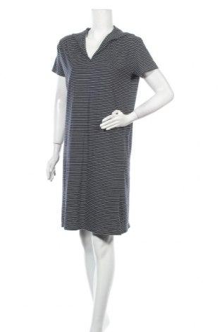 Рокля Via Appia, Размер L, Цвят Син, 50% памук, 50% модал, Цена 15,02лв.