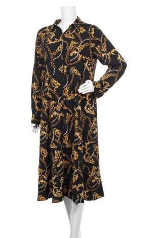 Рокля Vrs Woman, Размер L, Цвят Черен, Полиестер, Цена 33,60лв.