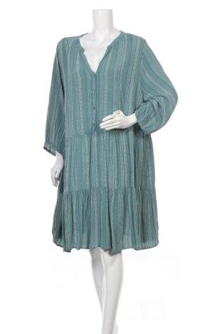 Φόρεμα Zizzi, Μέγεθος 3XL, Χρώμα Πράσινο, Βισκόζη, Τιμή 17,54€