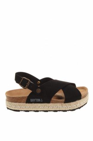 Sandale Bayton, Mărime 38, Culoare Negru, Textil, Preț 270,30 Lei