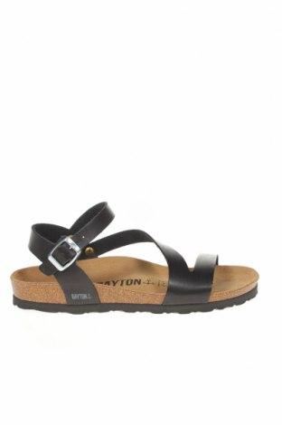 Сандали Bayton, Размер 38, Цвят Черен, Еко кожа, Цена 50,88лв.