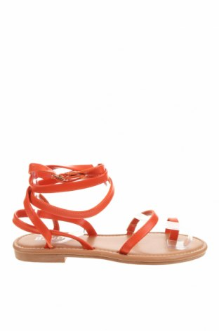 Сандали Bebo, Размер 36, Цвят Оранжев, Еко кожа, Цена 20,72лв.