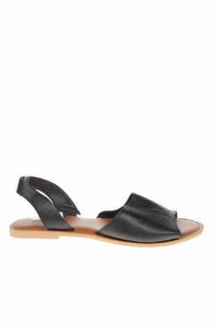 Sandály Boohoo, Velikost 41, Barva Černá, Eko kůže, Cena  383,00Kč