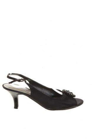 Сандали Easy Step, Размер 40, Цвят Черен, Текстил, Цена 26,46лв.