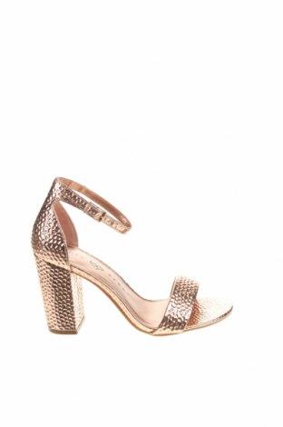 Sandály Katy Perry, Velikost 36, Barva Zlatistá, Eko kůže, Cena  1420,00Kč