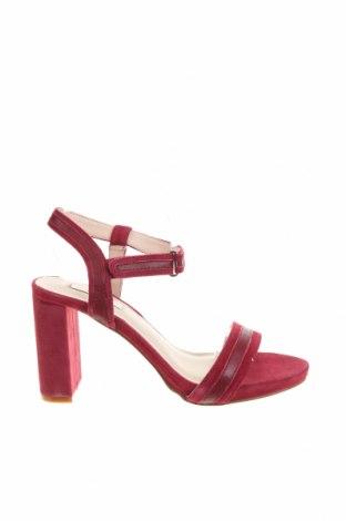 Сандали Kiomi, Размер 37, Цвят Розов, Естествен велур, естествена кожа, Цена 81,75лв.