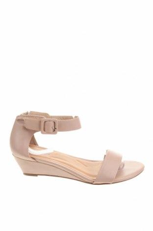 Сандали Miss Shop, Размер 38, Цвят Розов, Еко кожа, Цена 21,74лв.
