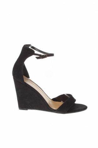 Σανδάλια New Look, Μέγεθος 39, Χρώμα Μαύρο, Κλωστοϋφαντουργικά προϊόντα, Τιμή 11,82€