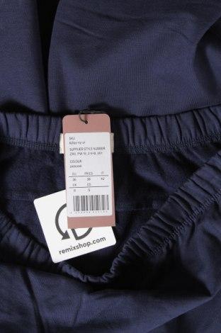 Спортно долнище за бременни, Размер S, Цвят Син, 95% памук, 5% еластан, Цена 36,75лв.