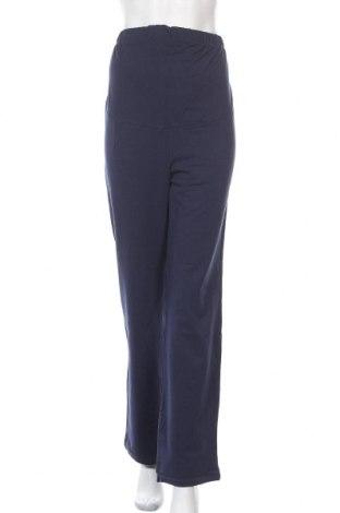 Sportovní spodní díl pro těhotné , Velikost M, Barva Modrá, 95% bavlna, 5% elastan, Cena  424,00Kč