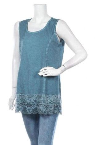 Τουνίκ Tredy, Μέγεθος L, Χρώμα Μπλέ, 100% βαμβάκι, Τιμή 11,04€