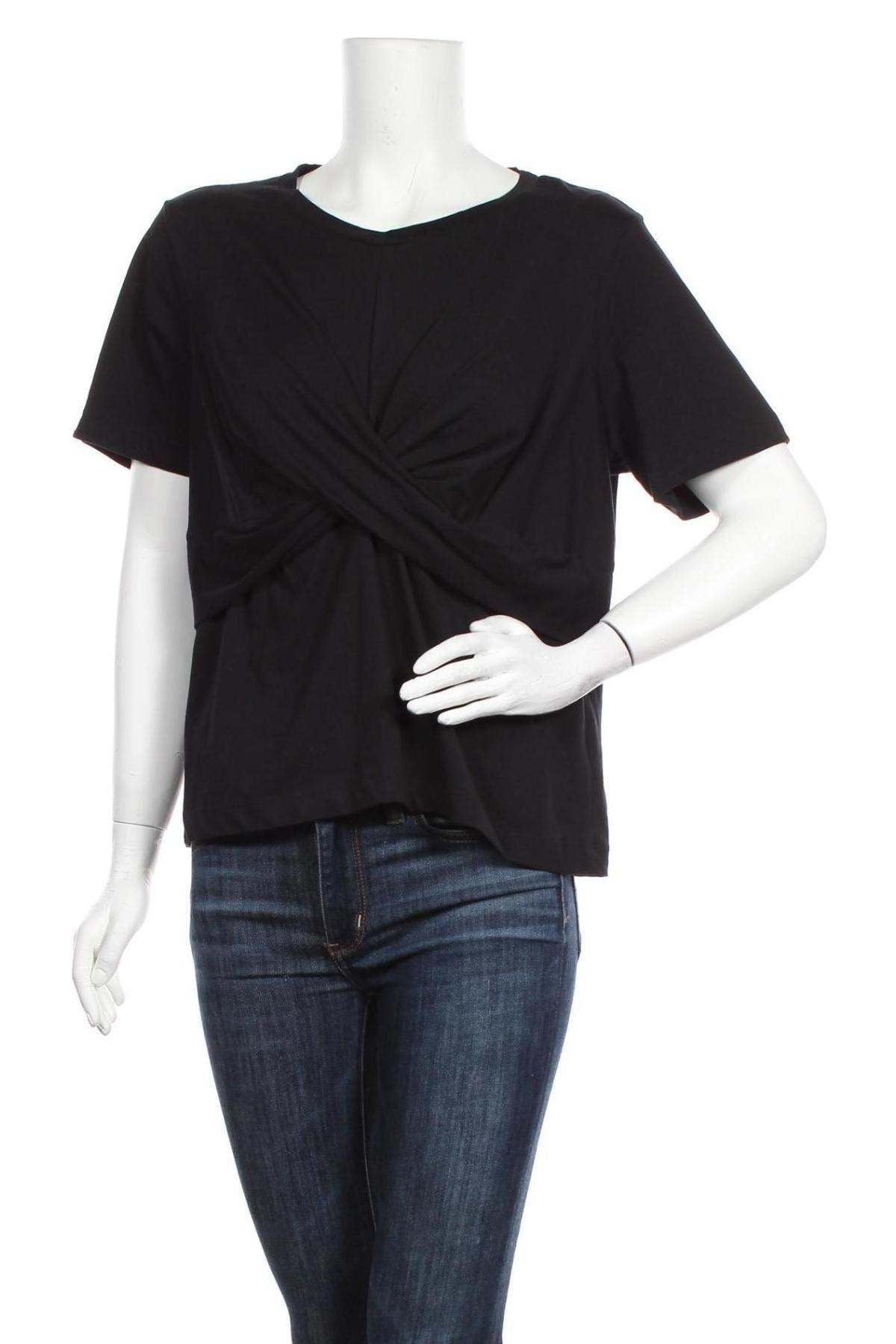 Γυναικεία μπλούζα Dr. Denim, Μέγεθος XL, Χρώμα Μαύρο, 100% βαμβάκι, Τιμή 13,92€