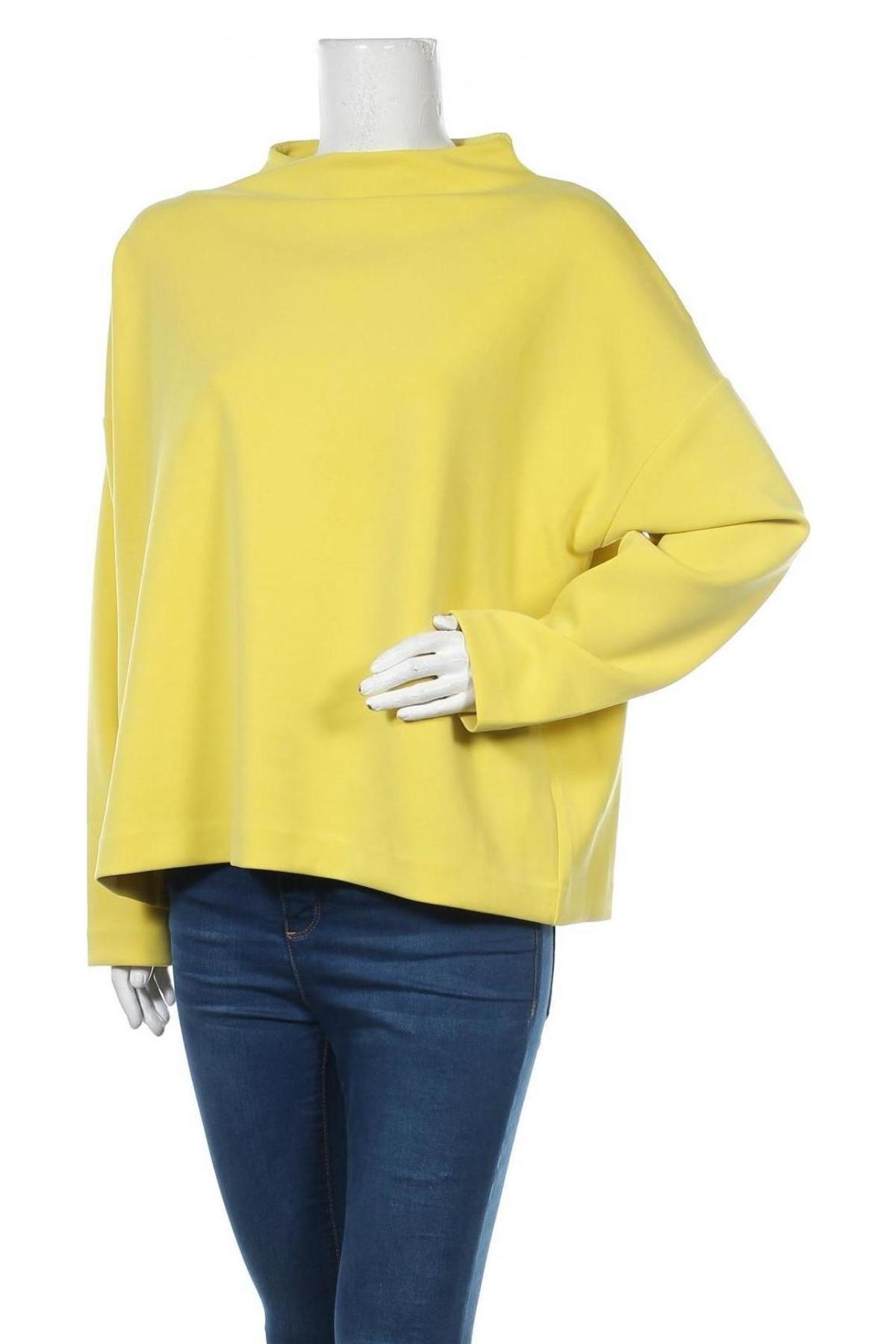 Дамска блуза Someday., Размер L, Цвят Жълт, 50% полиестер, 44% модал, 6% еластан, Цена 51,75лв.