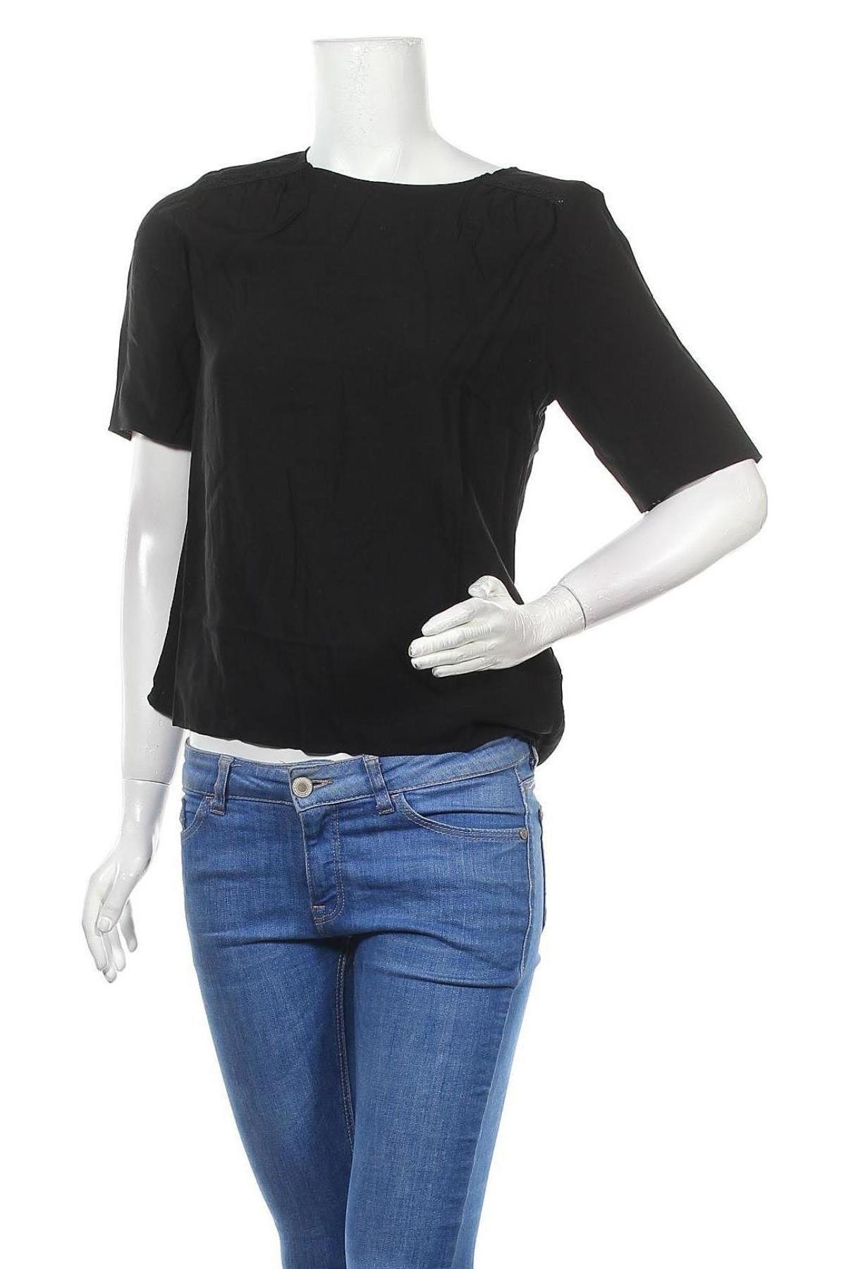 Bluză de femei Vero Moda, Mărime S, Culoare Negru, Viscoză, Preț 96,22 Lei