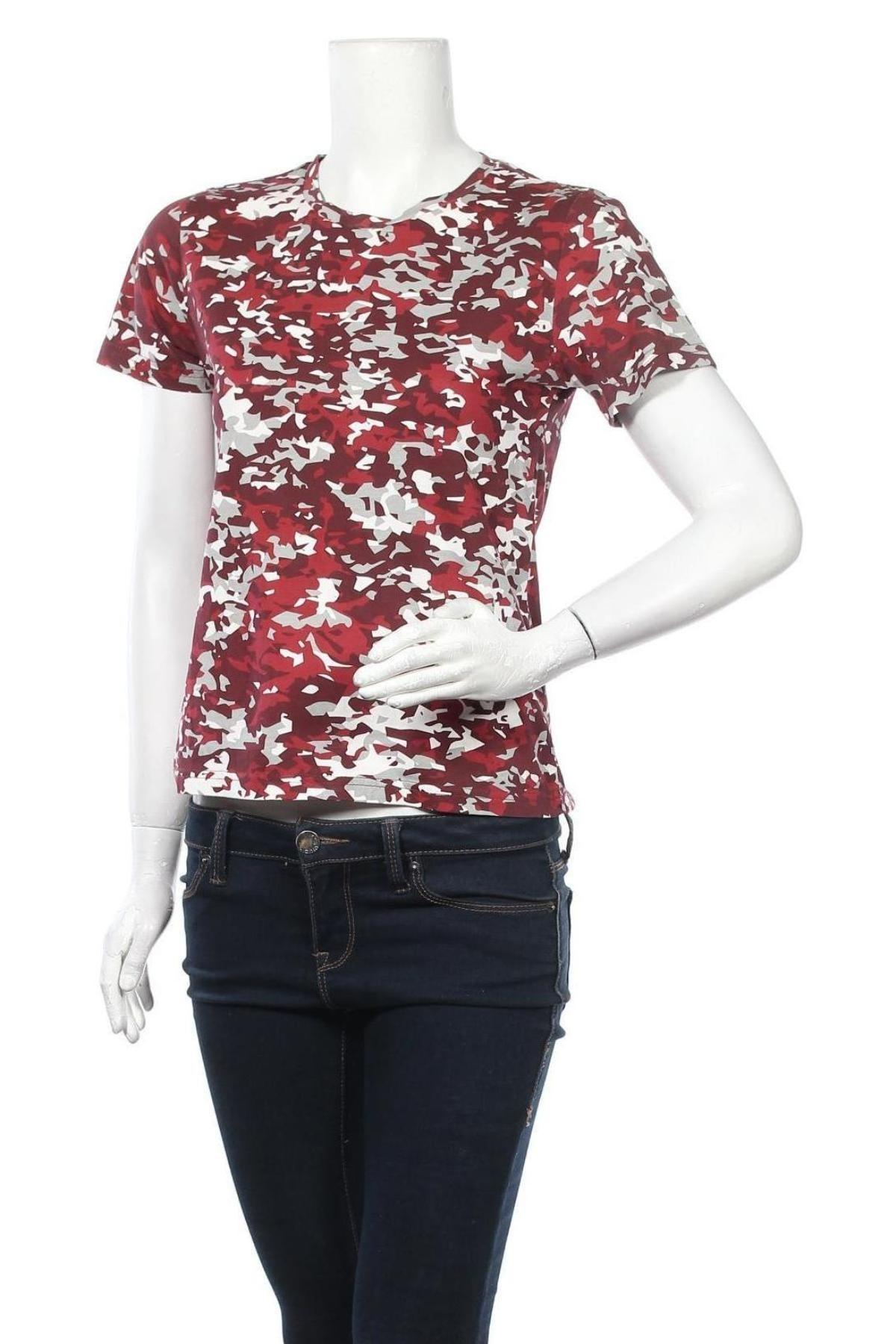 Γυναικείο t-shirt Dr. Denim, Μέγεθος S, Χρώμα Κόκκινο, 100% βαμβάκι, Τιμή 10,05€