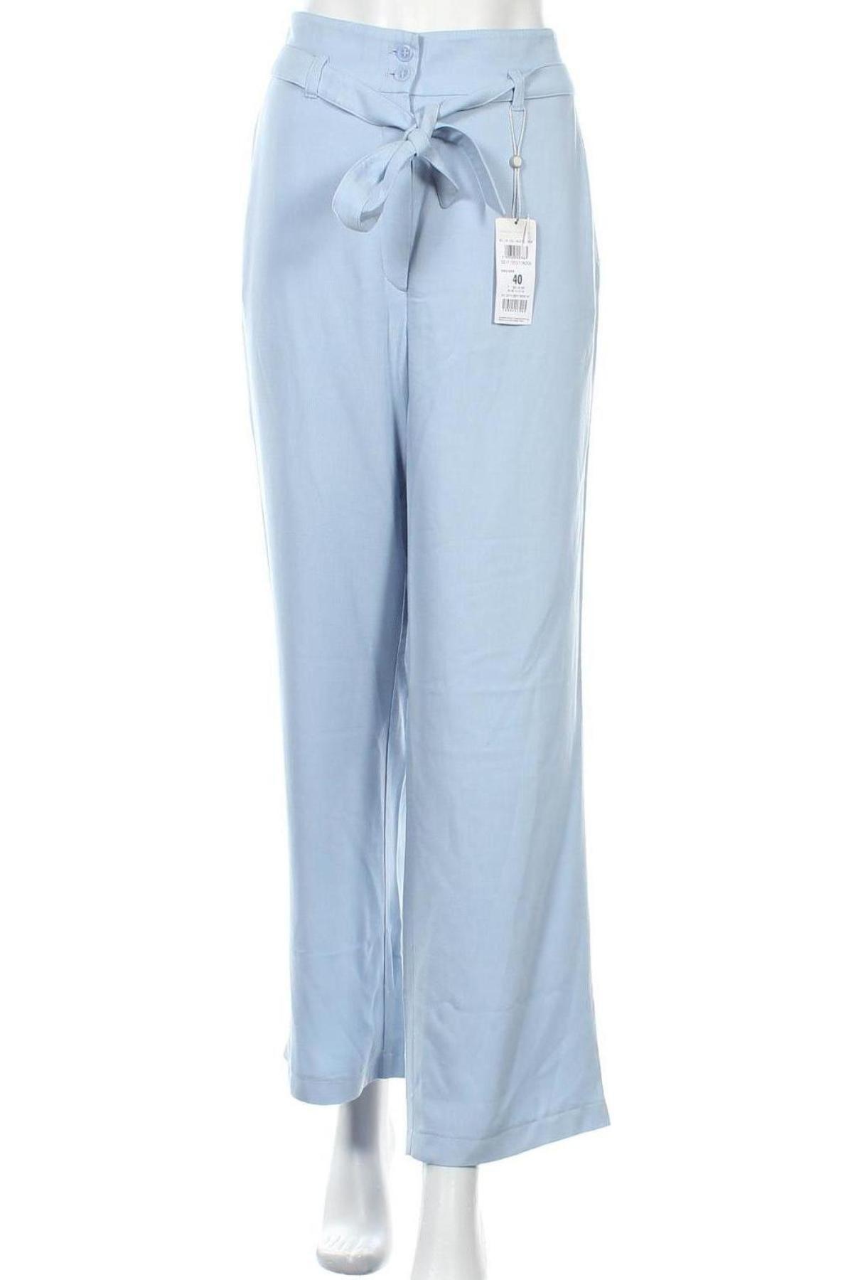 Дамски панталон Betty & Co, Размер L, Цвят Син, Вискоза, Цена 46,50лв.