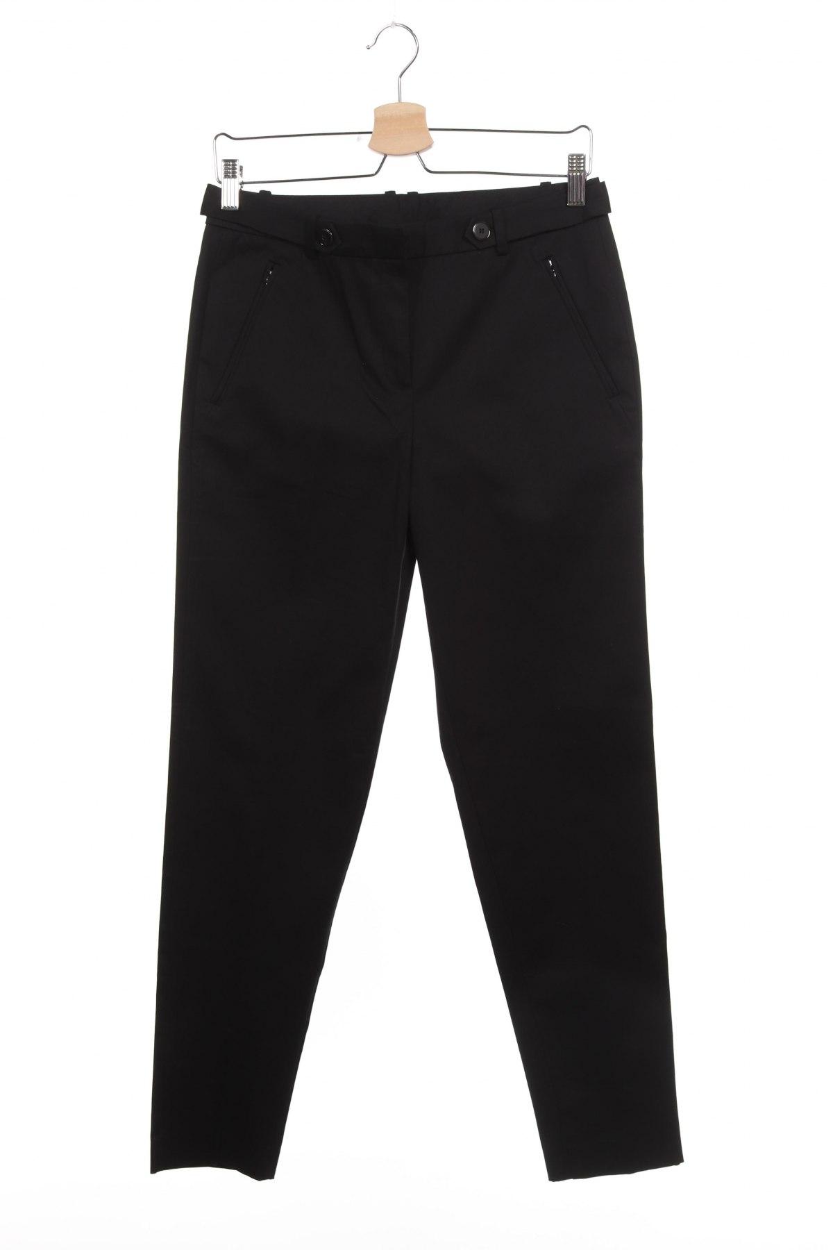 Дамски панталон Esprit, Размер XS, Цвят Черен, 84% памук, 12% модал, 4% еластан, Цена 26,78лв.