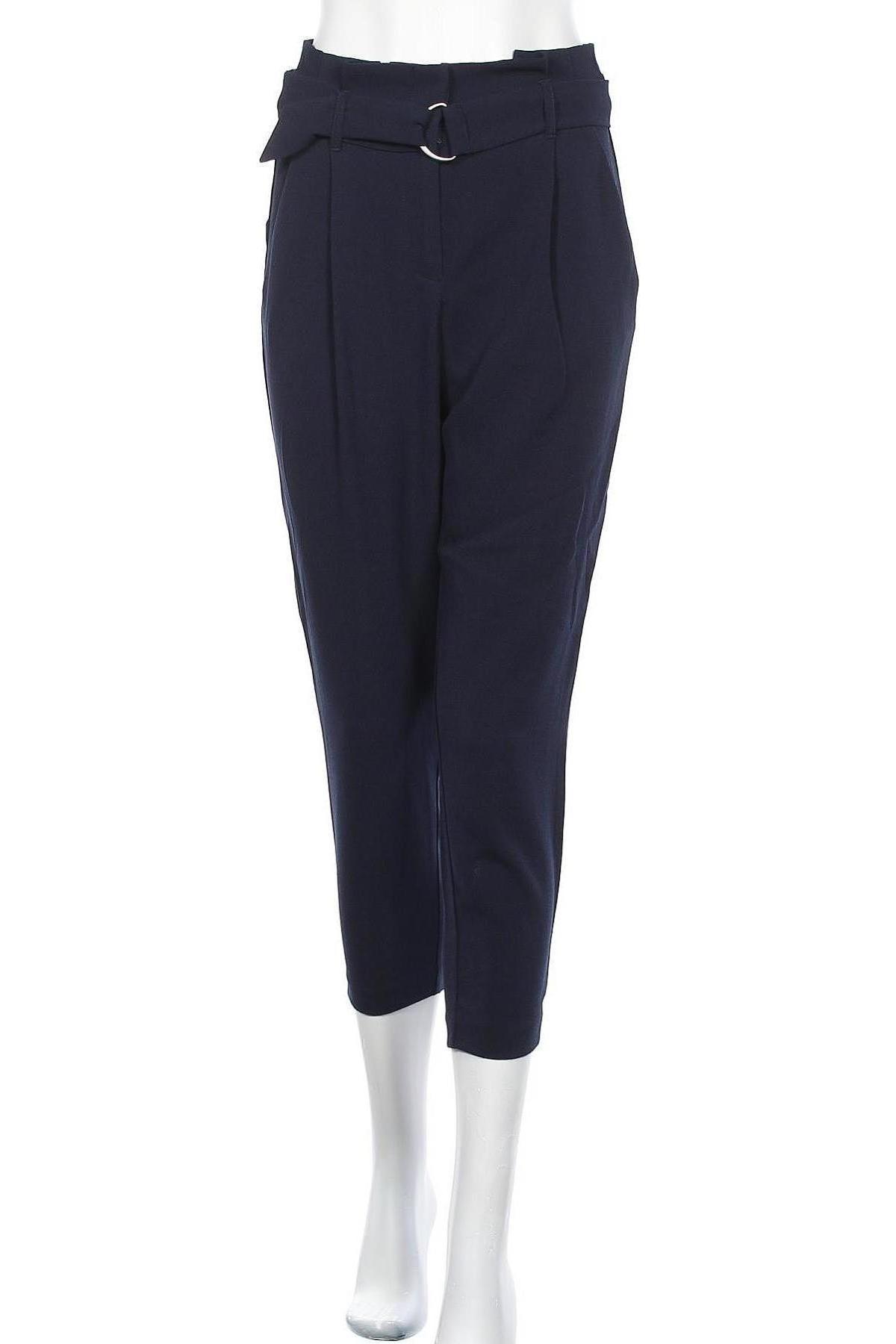 Дамски панталон ONLY, Размер S, Цвят Син, 97% полиестер, 3% еластан, Цена 13,42лв.