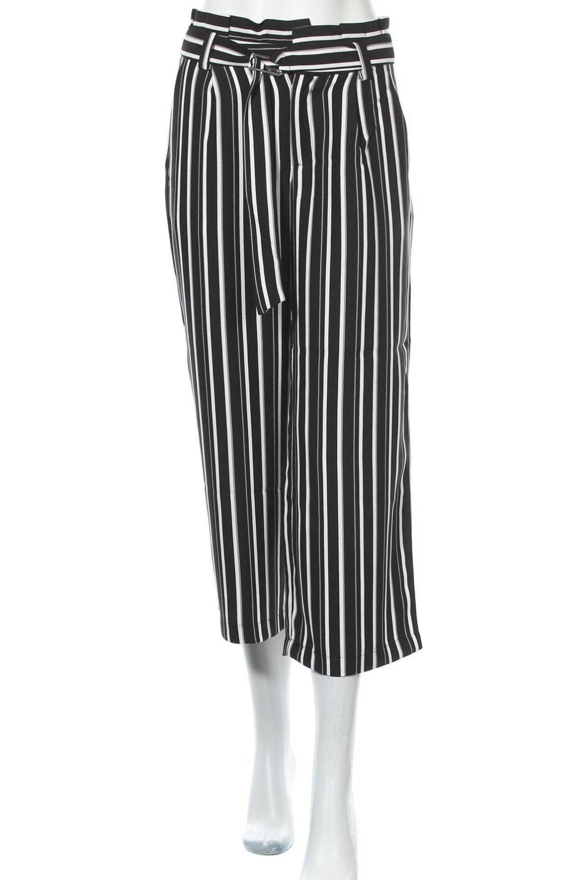 Дамски панталон ONLY, Размер S, Цвят Черен, Полиестер, Цена 20,34лв.