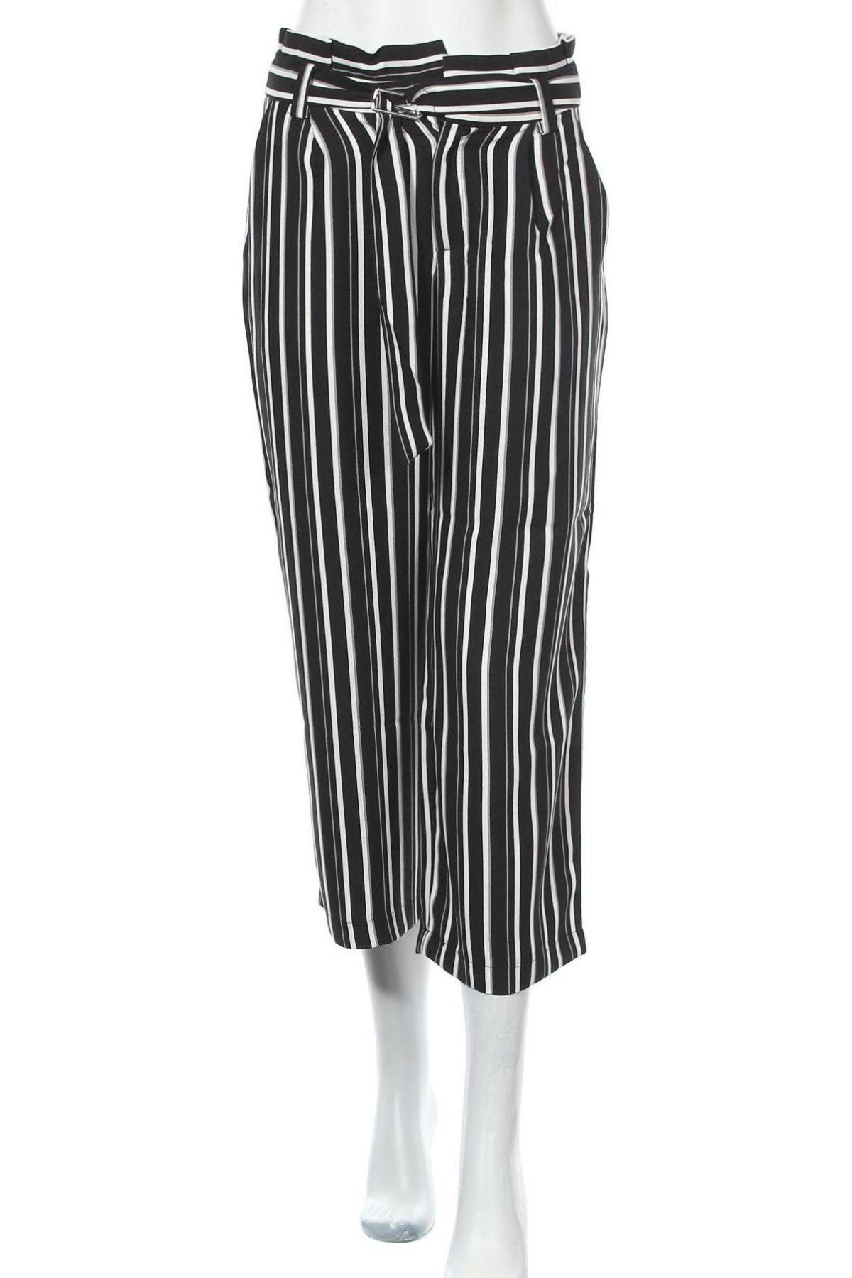 Дамски панталон ONLY, Размер M, Цвят Черен, Полиестер, Цена 20,34лв.