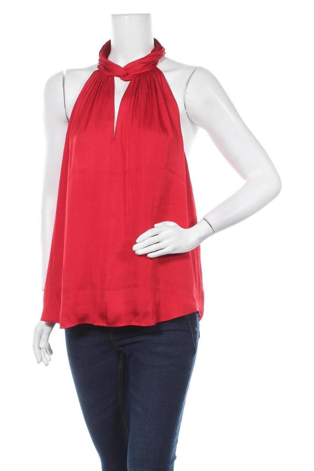 Γυναικείο αμάνικο μπλουζάκι Banana Republic, Μέγεθος XL, Χρώμα Κόκκινο, Πολυεστέρας, Τιμή 26,68€