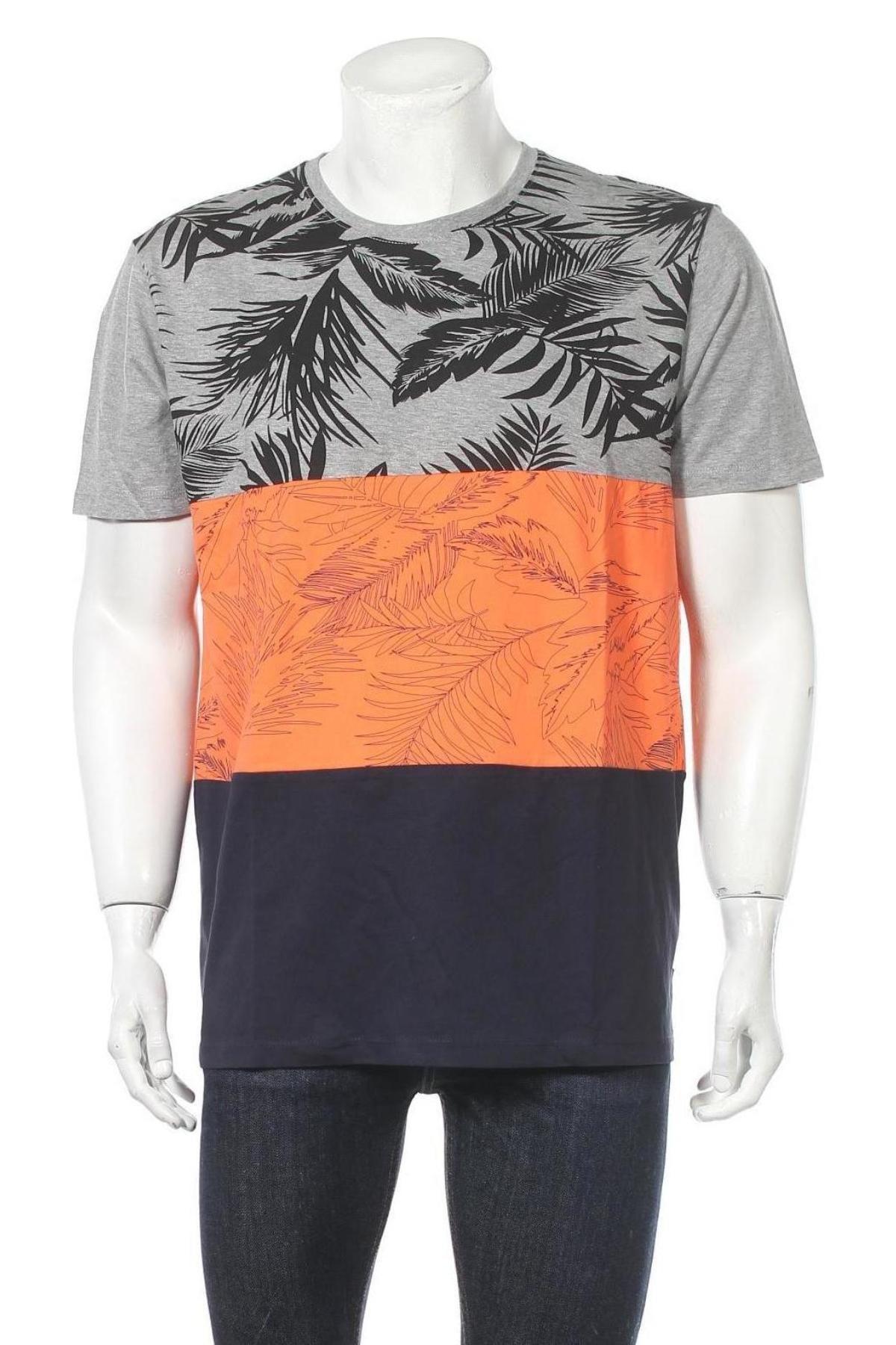 Мъжка тениска Esprit, Размер XL, Цвят Многоцветен, 85% памук, 15% вискоза, Цена 29,25лв.