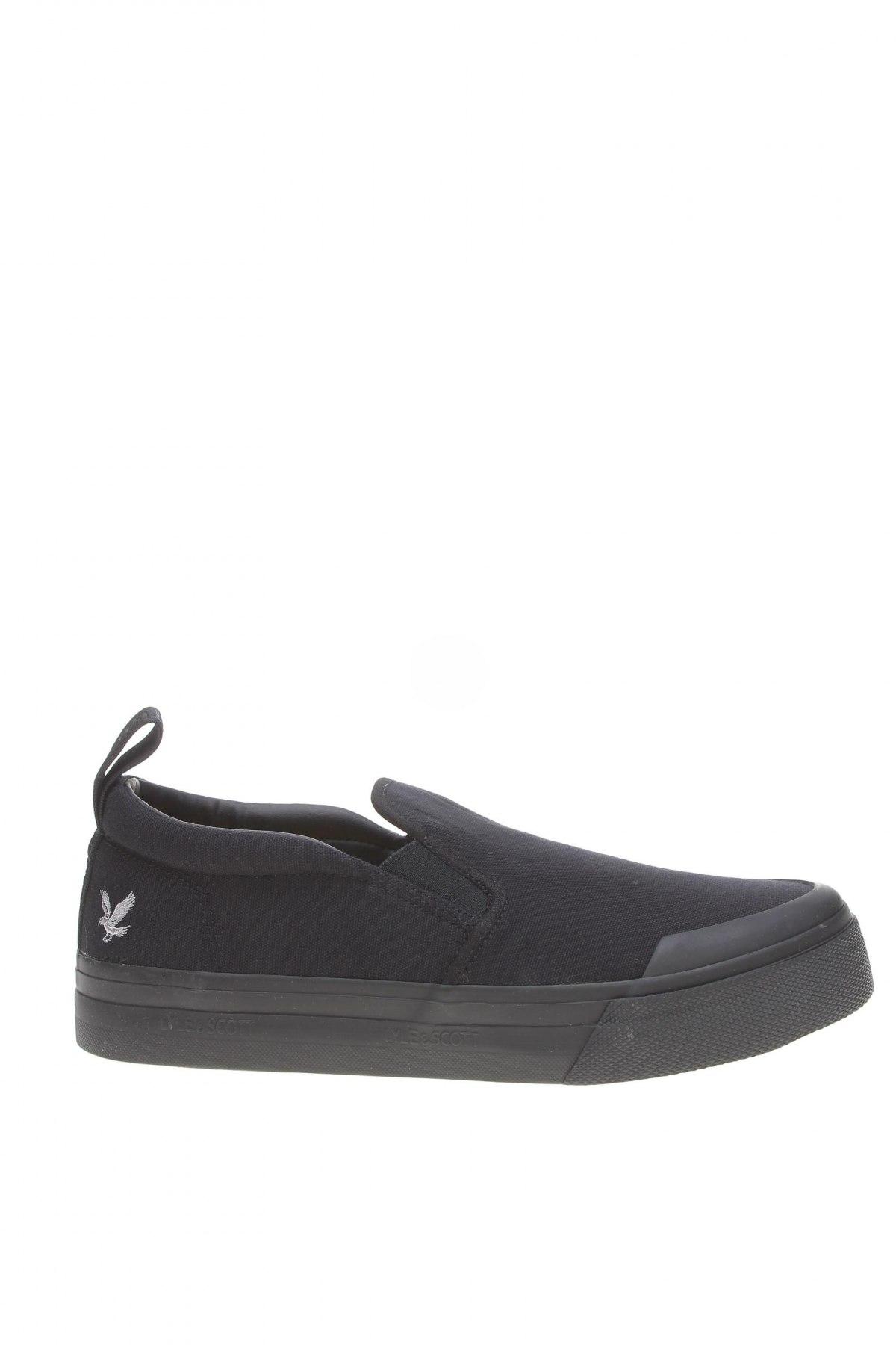Мъжки обувки Lyle & Scott, Размер 42, Цвят Черен, Текстил, Цена 89,25лв.