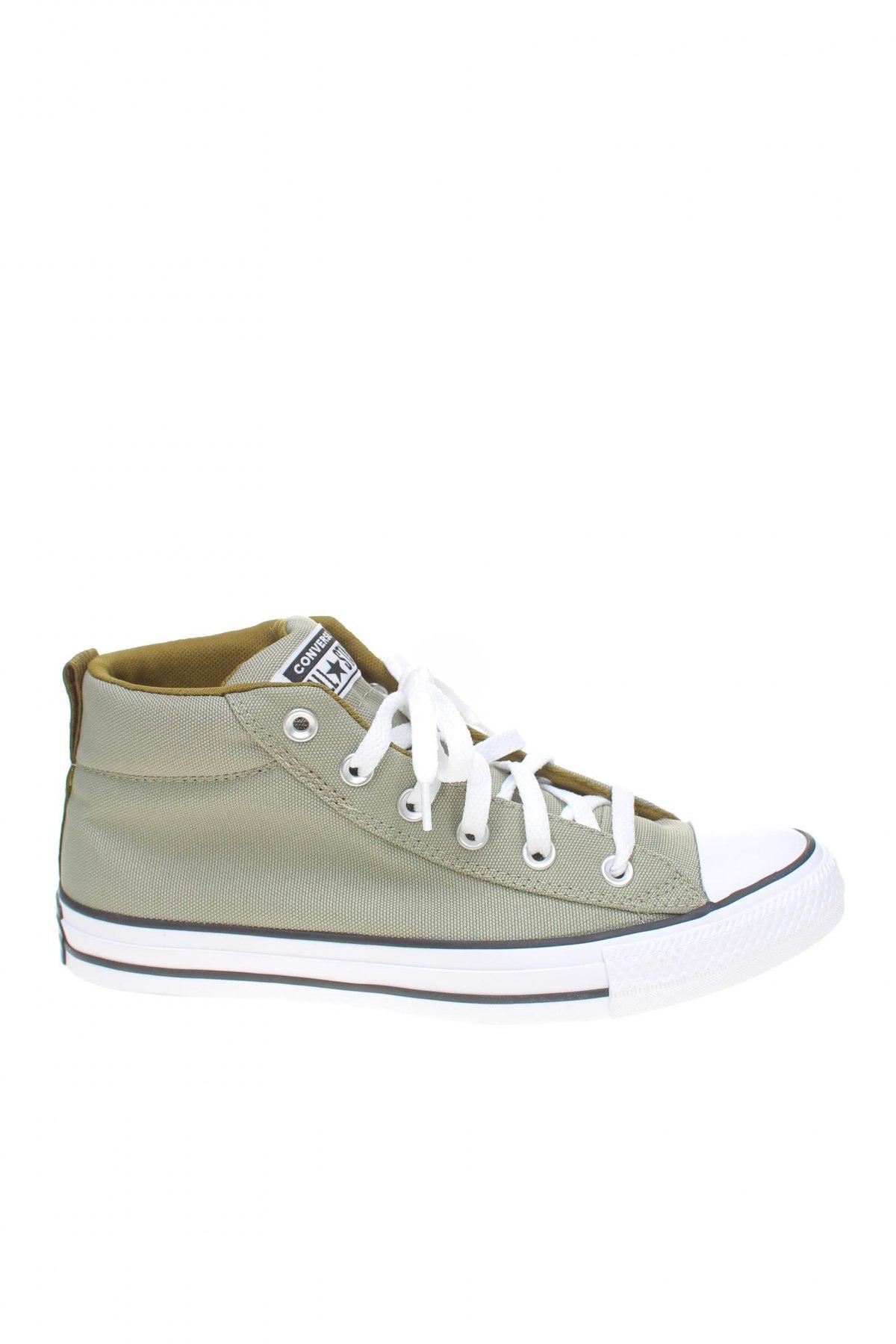 Обувки Converse, Размер 40, Цвят Зелен, Текстил, Цена 96,75лв.