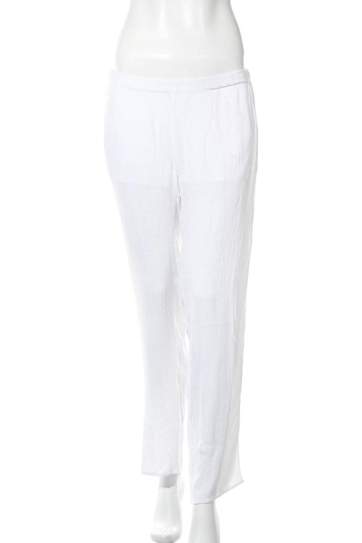 Kalhoty pro těhotné  Mamalicious, Velikost M, Barva Bílá, Viskóza, Cena  298,00Kč