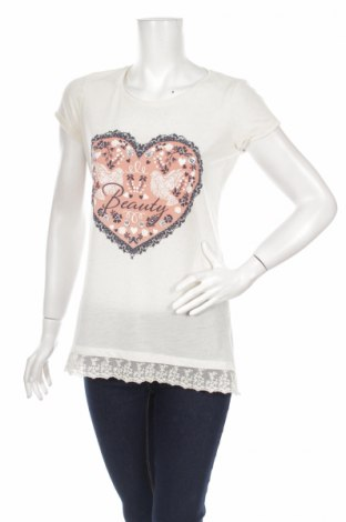 Дамска блуза LCW, Размер M, Цвят Екрю, Цена 6,60лв.