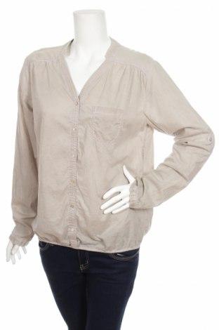 Γυναικείο πουκάμισο, Μέγεθος L, Χρώμα Γκρί, Τιμή 15,46€
