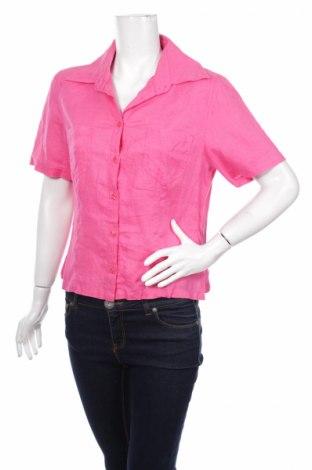 Γυναικείο πουκάμισο, Μέγεθος M, Χρώμα Ρόζ , Τιμή 15,41€