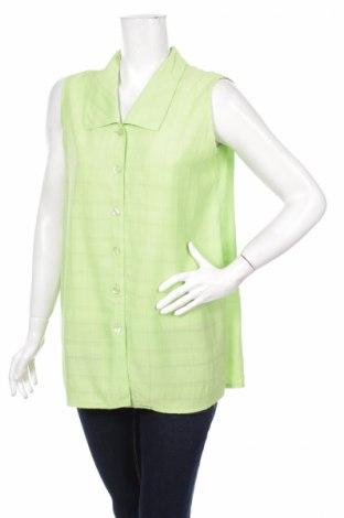 Γυναικείο πουκάμισο, Μέγεθος XL, Χρώμα Πράσινο, Τιμή 11,34€