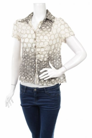Дамска риза Alliance, Размер M, Цвят Бежов, 90% памук, 10% метал, Цена 11,44лв.