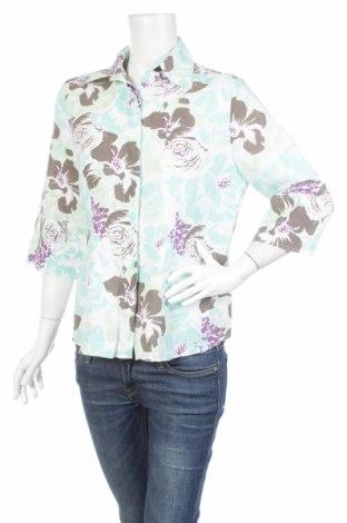 Γυναικείο πουκάμισο Charles Vogele, Μέγεθος L, Χρώμα Πολύχρωμο, 60% λινό, 40% βαμβάκι, Τιμή 14,95€