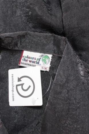 Γυναικείο πουκάμισο Colours Of The World, Μέγεθος S, Χρώμα Γκρί, Τιμή 16,49€