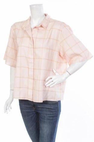 Γυναικείο πουκάμισο Cos, Μέγεθος XL, Χρώμα Ρόζ , Βαμβάκι, Τιμή 17,53€