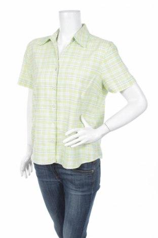 Дамска риза Greenfield, Размер L, Цвят Зелен, 57% памук, 43% полиестер, Цена 4,00лв.