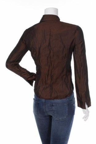 Γυναικείο πουκάμισο Lapet, Μέγεθος M, Χρώμα Καφέ, Τιμή 13,92€