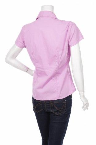 Γυναικείο πουκάμισο Maryland, Μέγεθος L, Χρώμα Ρόζ , 69% βαμβάκι, 28% πολυαμίδη, 3% ελαστάνη, Τιμή 13,93€