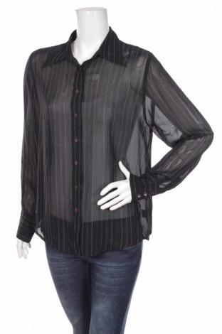 Γυναικείο πουκάμισο Number One, Μέγεθος S, Χρώμα Μαύρο, Βισκόζη, Τιμή 16,08€