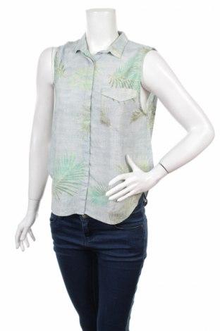 Дамска риза Pull&Bear, Размер L, Цвят Многоцветен, Цена 6,16лв.