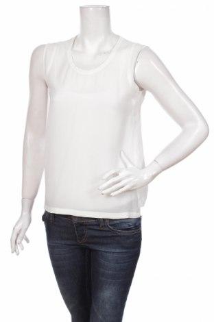 Γυναικείο αμάνικο μπλουζάκι Basic House, Μέγεθος S, Χρώμα Λευκό, Τιμή 2,94€