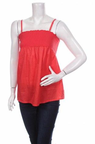 Γυναικείο αμάνικο μπλουζάκι Calinkalin, Μέγεθος M, Χρώμα Κόκκινο, 100% βαμβάκι, Τιμή 2,01€
