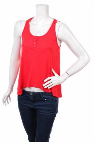Γυναικείο αμάνικο μπλουζάκι Red Herring, Μέγεθος S, Χρώμα Κόκκινο, Βισκόζη, Τιμή 3,25€