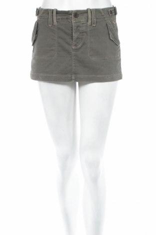 Пола Abercrombie & Fitch, Размер S, Цвят Зелен, 98% памук, 2% еластан, Цена 5,22лв.