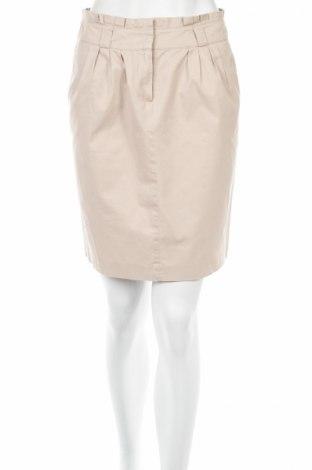 Пола Camaieu, Размер S, Цвят Бежов, 100% памук, Цена 5,06лв.