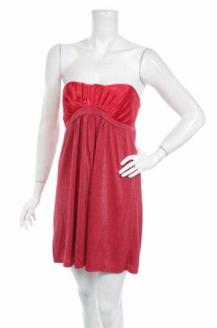 Φόρεμα Pink Woman, Μέγεθος S, Χρώμα Κόκκινο, 60% βισκόζη, 35% πολυεστέρας, 5% ελαστάνη, Τιμή 7,52€