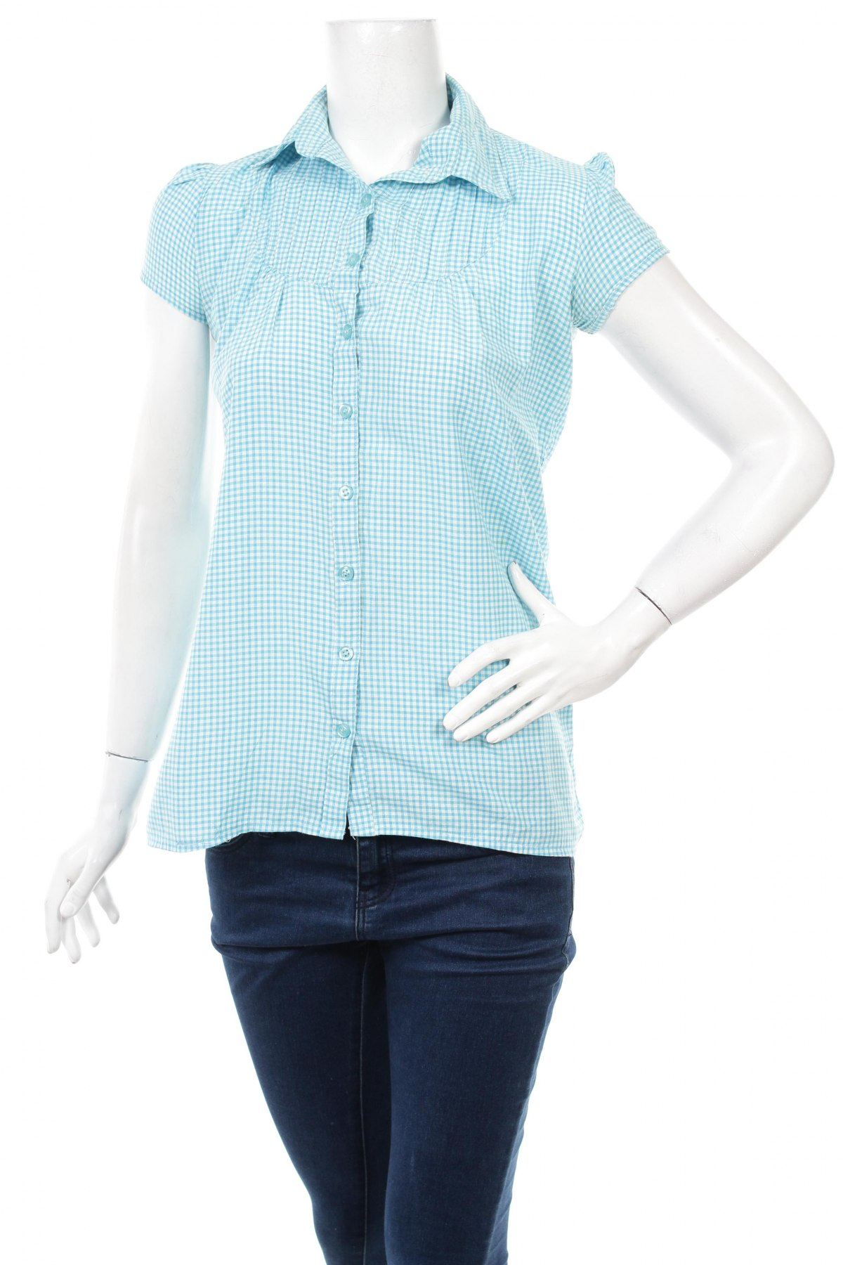 Γυναικείο πουκάμισο, Μέγεθος S, Χρώμα Μπλέ, Τιμή 10,82€
