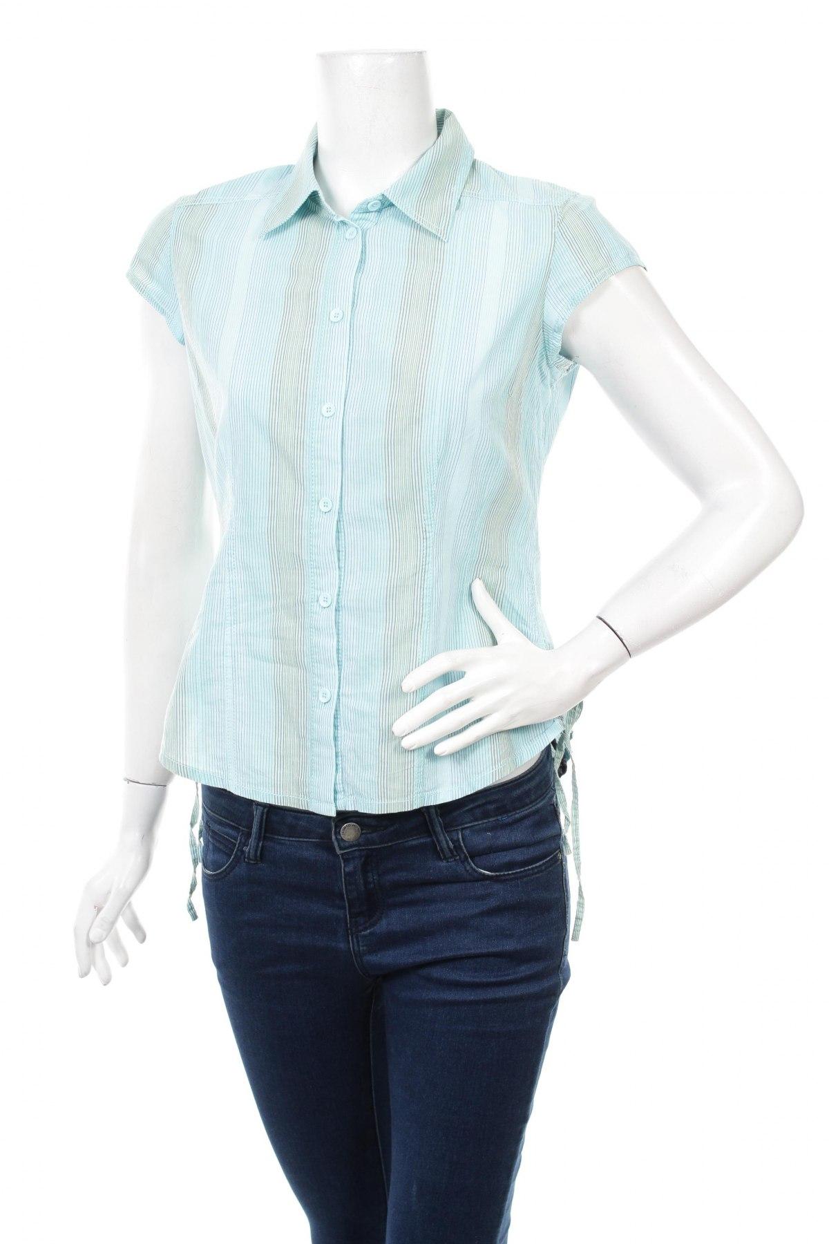 Γυναικείο πουκάμισο, Μέγεθος M, Χρώμα Μπλέ, Τιμή 10,82€